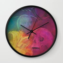 The laughter Wall Clock