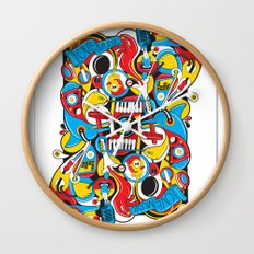 King Of Spades Wall Clock