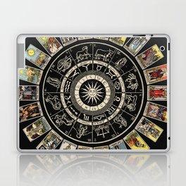 The Major Arcana & The Wheel of the Zodiac Laptop & iPad Skin