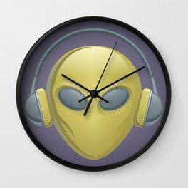 Alien Dj Wall Clock