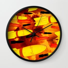 Rockets Man Wall Clock