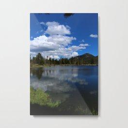 Sprague Lake Reflection Metal Print