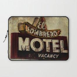 Vintage El Sombrero Motel Sign Laptop Sleeve