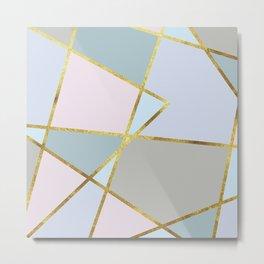 sweet geometric Metal Print
