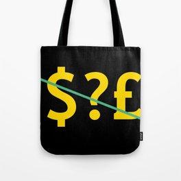 suspect logo Tote Bag