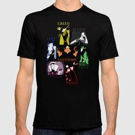 Seven Villainous Sins T-shirt