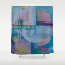 Quadrants of Consciousness Shower Curtain