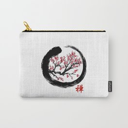 Japanese ENSO ZEN Buddhist SHIRT Carry-All Pouch