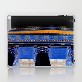 Philadelphia Museum Acropolis / Black Laptop & iPad Skin