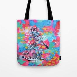 Bird and Ballerina Tote Bag