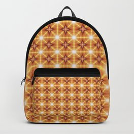 Matrix Connection Mandala Pattern Backpack