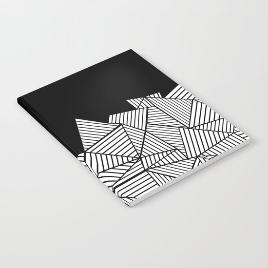 Abstraction Mountain Notebook