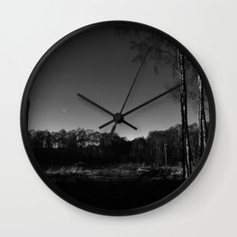 Eerie view in the Highlands Wall Clock