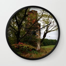 Only Thing Left Standing Wall Clock