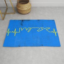 WRX Heartbeat Rug