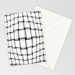 intertwined bands Stationery Cards