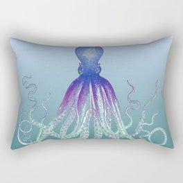 Deep Sea Octopus Rectangular Pillow