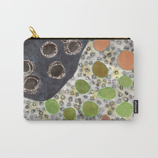 Playful Yin and Yang Pattern Carry-All Pouch