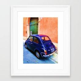 Blue Car 2 Framed Art Print