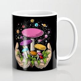 Magic Mushrooms Space Psychedelic Trip Coffee Mug