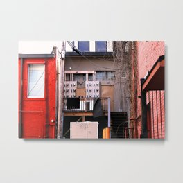 Back-Alley Morals Metal Print