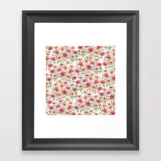 Garden Print Framed Art Print