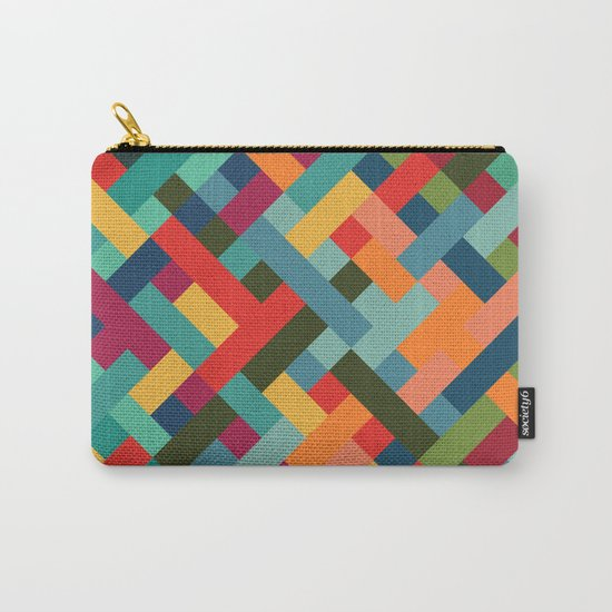 Weave Pattern Carry-All Pouch