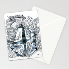 The City Bean  Stationery Cards