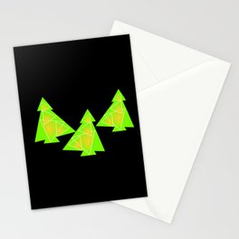 Three little trees Stationery Cards