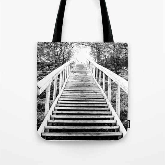 Only Way is Up Tote Bag