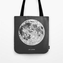 La Luna Moon Print Tote Bag