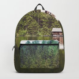 Cottage in the Forest (Color) Backpack