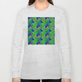 Circle Painting Number 10 Long Sleeve T-shirt