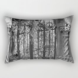 old gate Rectangular Pillow
