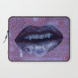 Water Lips Laptop Sleeve