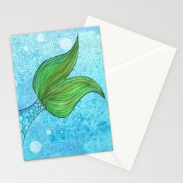 Mysterious Mermaid Stationery Cards