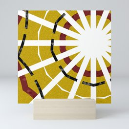 Fragmented Sun Mini Art Print