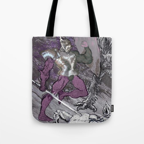 ''Why me?!'',cried the poor monster Tote Bag