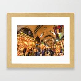 Spice Bazaar Istanbul Framed Art Print