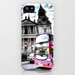 London Classic Art iPhone Case