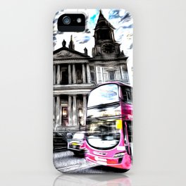 London Classic Art iPhone Case