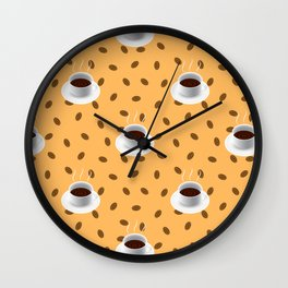 Coffeetime Wall Clock
