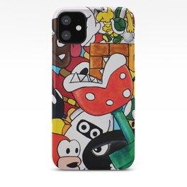 Super Mario Bros iPhone Case