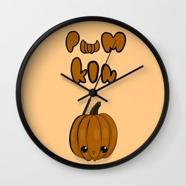 GwiYomi - Pum Kin Wall Clock