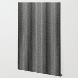 Mud cloth - Black and White Arrowheads Wallpaper