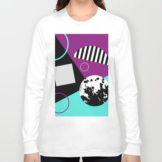 Bits And Bobs 2 - Abstract, geometric design Long Sleeve T-shirt