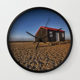 The Red Hut Wall Clock