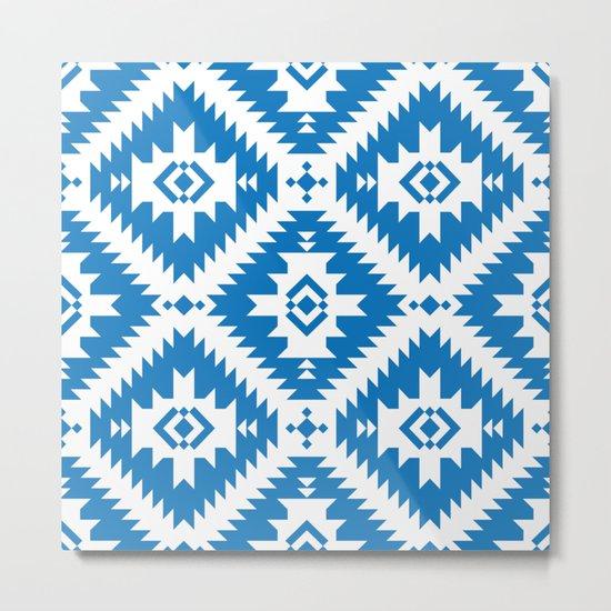 NavNa Blue Metal Print