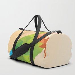 Parrot LOW POLY ART Duffle Bag
