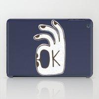 kim sy ok iPad Cases featuring OK by Alisa Galitsyna